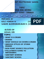 DRAINS AND SEWERS.ppt