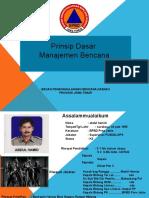 1. MODUL- 1 Dasar Dasar Dan Konsepsi Manajemen Bencana Unitomo 2015