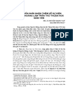 Nguyễn Hoàng Trấn Thủ Thuận Hoá Năm 1558 - Nguyễn Trọng Văn