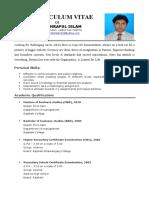 ashraful Cv .doc