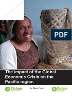 The Impacts of the Global Economic Crisis on the Pacific Region