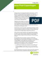 Climate Finance Post-Copenhagen