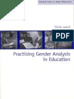 Practising Gender Analysis in Education