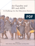 Gender Equality, HIV and AIDS