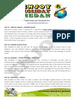 5d4n Medan Muslim Tour Package