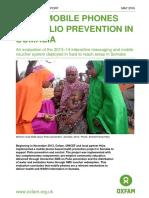 Using Mobile Phones for Polio Prevention in Somalia