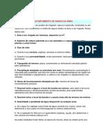 Desenho d Projecto de Rega (Requisitos)