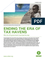 Ending the Era of Tax Havens
