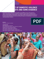 Measurement of Domestic Violence in NFHS Surveys and Some Evidence
