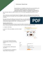 professionalblogset-up