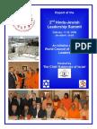 २nd Hindu Jewish Summit Report