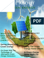 All About Green Energy