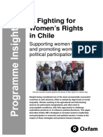Fighting for Women's Rights in Chile