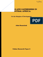 Hunters and Gatherers in Central Africa