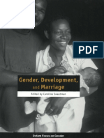 Gender, Development, and Marriage
