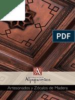Catálogo Artesonados Diseño Clasico