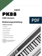 PK88 USB Anleitung