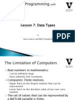 Introduction to Programming with Matlab  Lesson-7.pdf