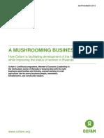 A Mushrooming business