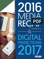 2016 Media Recap