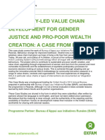 Community-led Value Chain Development for Gender Justice and Pro-poor Wealth Creation