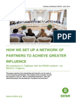 How We Set Up a Network of Partners to Achieve Greater Influence