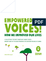 Empowered Voices! How we improved our lives