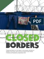 Closed Borders