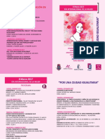 Programa 8 Marzo 2017