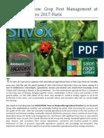 ALSTASAN Silvox - Crop Pest Management at Salon Agriculture 2017 Paris