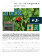 ALSTASAN Silvox - Crop Pest Management at Salon Agriculture 2017 Paris