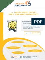 Guida Agevolazioni Risparmio Energetico 2015 S