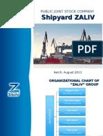 ZALIV Shipyard Presentation