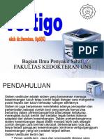 Kuliah Vertigo - dr Suratno.ppt