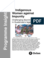 Indigenous Women against Impunity