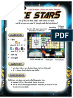 Dice Stars Rules En