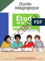 Guide Pédagogique Français Étude de La Langue CE2