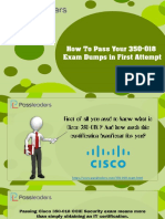 How to Pass Your 350-018 Exam Dumps in First Attempt