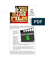 All Time Top 10 Film Franchises