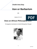 20072, Cheikh Anta Diop, Civilisation or Barbarism, 1981
