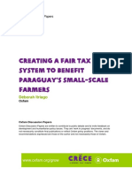 Creating a Fair Tax System to Benefit Paraguay's Small-Scale Farmers