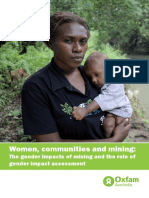 Women, Communities and Mining