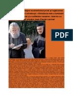 Jean Claude Larchet Şi Ecumenismul