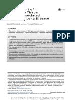 Management of CTD in ILD