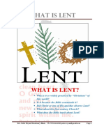 WHAT IS LENT