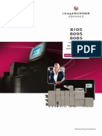 Copier IRADV 8000Srs Brochure Highres