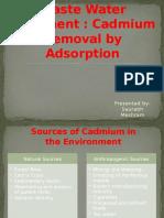 Cadmium Removal