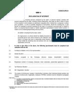Scm-bid Documents Sbd 4 Declaration of Interest (2)