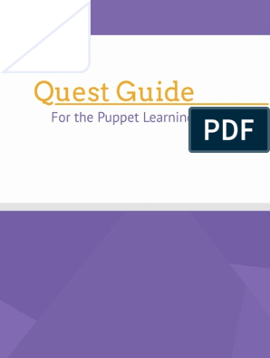 Puppet Quest Guide (1) | Command Line Interface | Virtual
