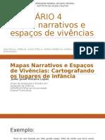 SEMINÁRIO 4 Mapas Narrativos